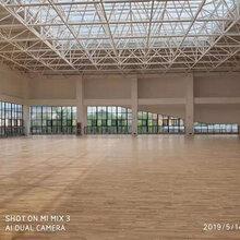 蒙山县运动木地板翻新施工 运动木地板维修 可加工定制图片