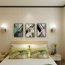 安徽环保锁扣拼花护墙板厂家直销 锁扣护墙板 优惠价格图片
