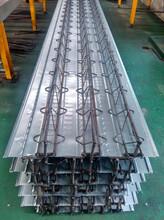 平顶山0.7-1.2mm钢筋桁架楼承板TD4-160 型号规格图片