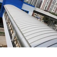 苏州氟碳深灰色铝镁锰板YX65-330型 环保耐用图片