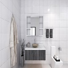 常德专业定制竹炭浴室柜费用 浴室柜 质优价廉图片