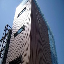 福州铝镁锰板彩钢板侧嵌板330型 搭叠板 专业快速图片