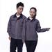JINYT-8801500定制贵州工作服灰色涤棉工程服拉链袋耐磨耐穿单层春秋装工程套装