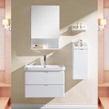 张家界现货竹炭浴室柜费用 浴室柜 独特造型图片