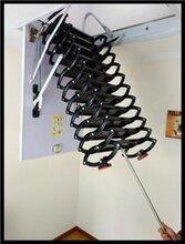 酒泉电动隐形阁楼伸缩楼梯 超强承重_可上门安装