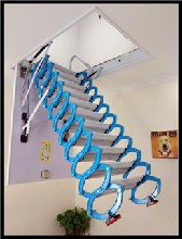 上海哪家家用伸缩楼梯生产 款式多质量好