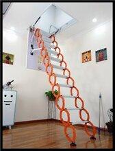 福建专业定做手动阁楼伸缩楼梯 超强承重伸缩楼梯