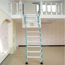 湘潭电动阁楼伸缩楼梯定做 技术成熟 产品稳定