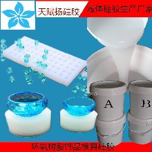 朱砂饰品模具硅胶DIY手工滴胶饰品15度加成型硅胶