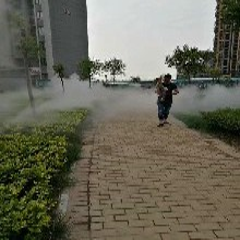 鹤山冷雾设备人工造雾设备 欢迎来电洽谈图片