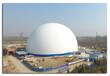 甘肅蘭州寧夏銀川氣膜煤棚-購買氣膜結構煤棚就來蘭州中天久業膜建筑