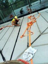靠谱的外墙渗漏维修就选广州鑫海建筑幕墙工程隐框玻璃幕墙漏水维修图片