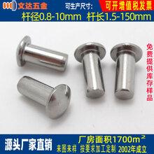 優良的不銹鋼鉚釘推薦_316不銹鋼半空心鉚釘圖片