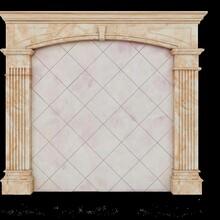 西安新款水转印背景墙厂家 水转印 支持定制 周期可控图片