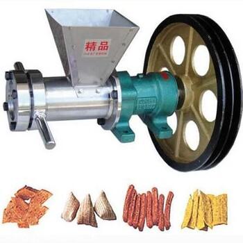 畅达通空心棒机 大米玉米高粱米膨化机 自动切弯康乐果
