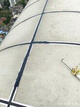广州知名外墙渗漏维修,隐框玻璃幕墙漏水原因图片