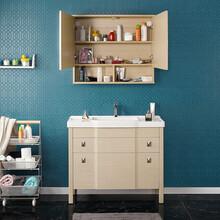 郴州专业定制竹炭浴室柜厂家直销 浴室柜 优惠价格图片