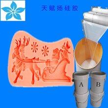 卡通蛋糕模具硅胶食品级AB液体硅胶糖果造型模具硅胶