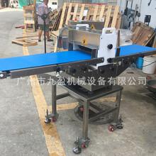 广州厂家鸡翅开边机鳕鱼开边切块设备图片图片