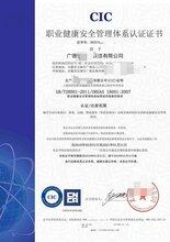 安徽ISO28001职业安全与健康管理体系费用