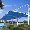 车棚膜结构-张拉膜结构遮阳棚-山东膜结构停车车棚施工