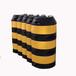 加油站防撞桶模具,星暉滾塑-專業防撞桶模具供應商