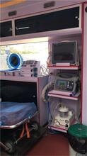 保定私人120救护车出租24小时服务图片