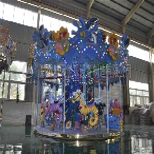 郑州现货公园旋转木马儿童转马电话 点击查看详情图片