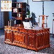 红木案台类家具刺猬紫檀缅花画案办公桌2件套便宜批发