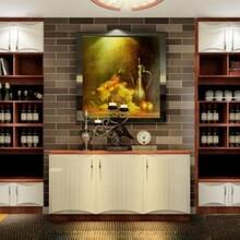百色优质竹炭酒柜定制 酒柜 低价批发 货到付款图片