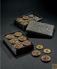 阜阳私下交易回收古董古玩古钱币价格 字画 咸丰元宝图片