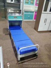 宏宝定做医院陪护床头柜现代共享陪护床金属床头柜批发价图片