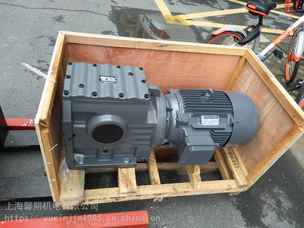 工廠直銷S系列斜齒輪-渦輪蝸減速機S97-11152-YX3-4KW質量可靠量大優惠