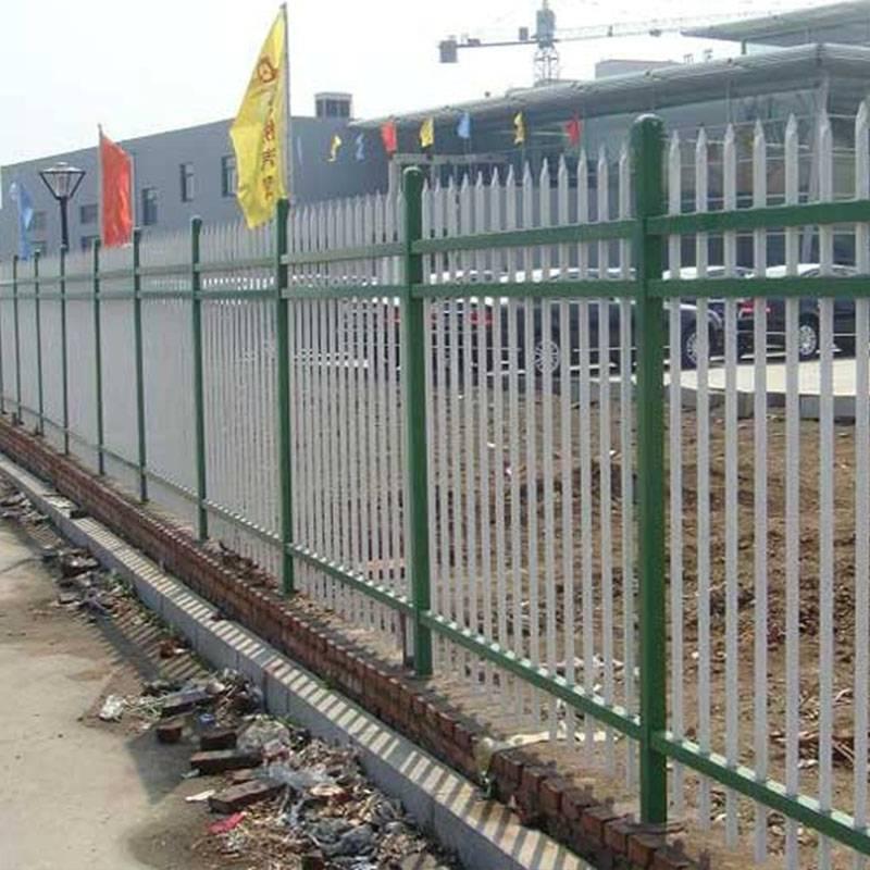 廠家供應圍墻欄桿鋅鋼護欄別墅庭院鋅鋼欄桿廠房小區圍欄