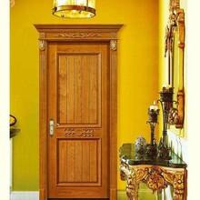 金华优质竹木纤维套装门规格 竹木防水门 精工打造图片