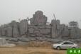 恒美景觀南京水泥假山圖片,徐州承接南京塑石假山圖片造型美觀