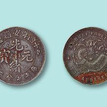 苏州专业的私下交易回收古董古玩古钱币 翡翠 光绪元宝图片