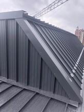 红河氟碳深灰色铝镁锰板YX65-500型 环保耐用图片