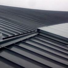九江扇形弯弧铝镁锰板YX65-400型 深灰色图片