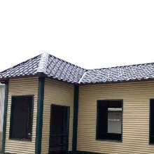牡丹江彩钢琉璃瓦YX30-200-800型 仿古琉璃瓦 板型齐全图片