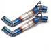 改装钛合金中段排气管CBR1000RR排气管弯管连接管汽车摩托车排气管代加工