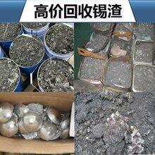 荆州市锡铜回收锡条锡块报价 废锡线废锡膏图片