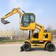 阜新生產微型小挖機,小型挖掘機廠家產品圖