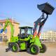 久鼎源小型挖掘機裝載機,三門峽供應兩頭忙性能可靠產品圖