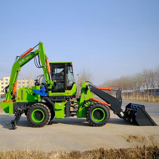 宜春微型兩頭忙性能可靠,小型挖掘機裝載機