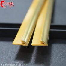 情湘悅廠家直銷不銹鋼封邊 鏡框相框包邊條 香檳金異型收邊條
