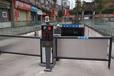 天津訂制車牌識別廣告道閘色澤光潤,停車場廣告道閘