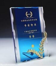 上海全國職業信用評價網信用評級證書 職信網證書圖片