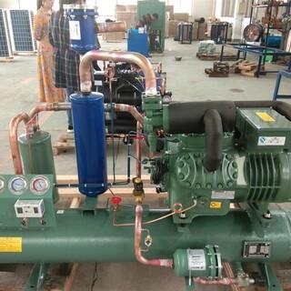 青岛比泽尔半封闭活塞式水冷制冷机组 比泽尔水冷机组图片1