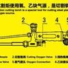 深圳工字牌焊割炬割炬QH-4/H 前部弯管 全系列全规格
